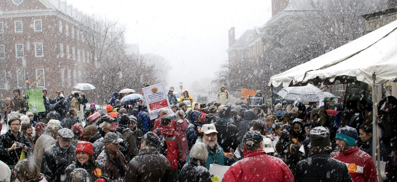Rally for Global Warming Solutions Act