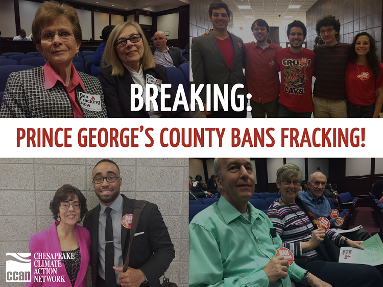 PG Bans Fracking Graphic