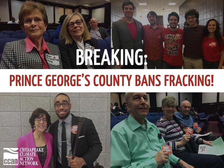 PG Bans Fracking Graphic