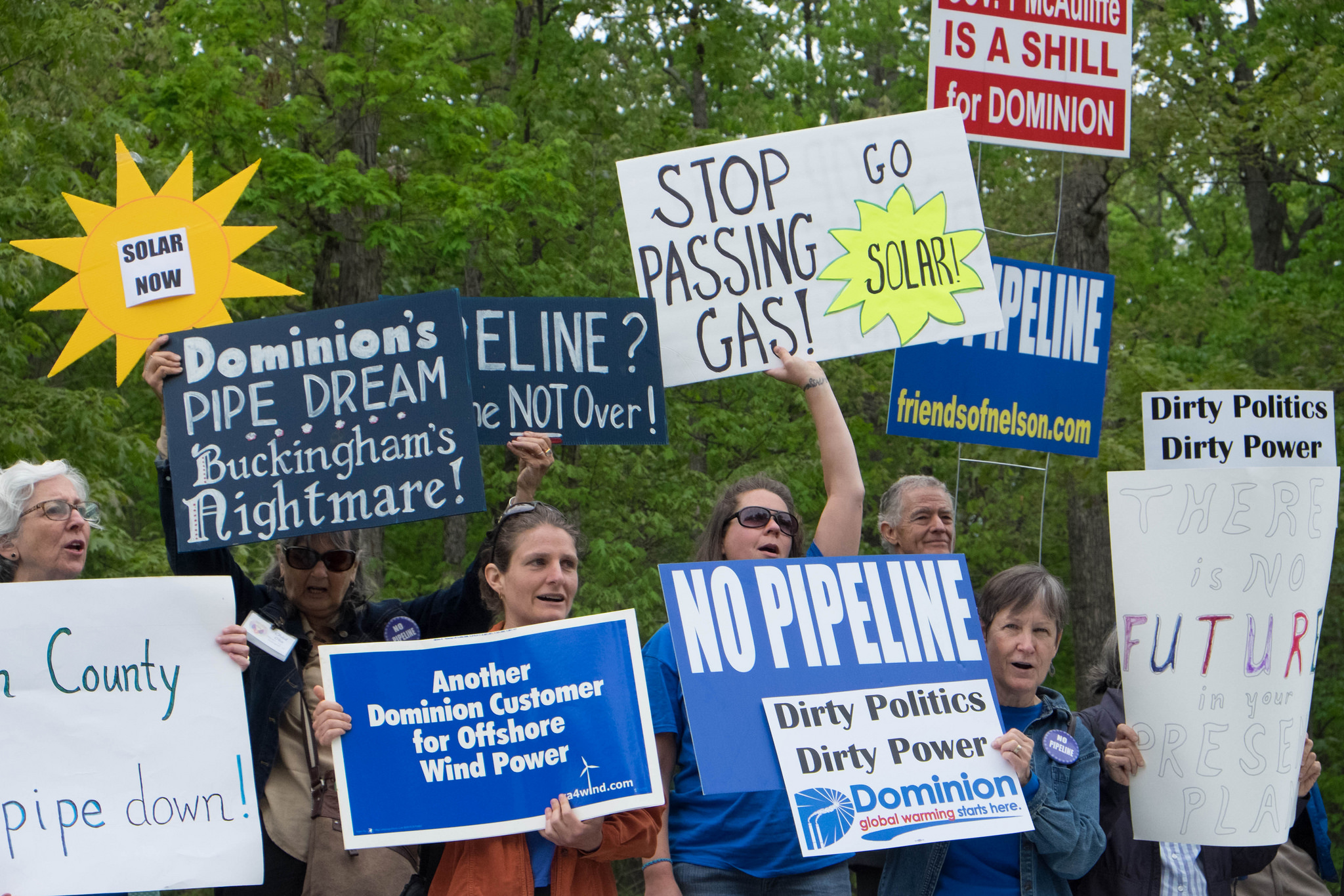 Virginians make it clear they oppose new pipeline infrastructure.