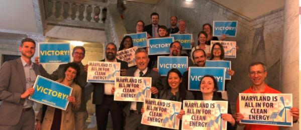 Thank your Maryland legislators for passing the Clean Energy Jobs Act!