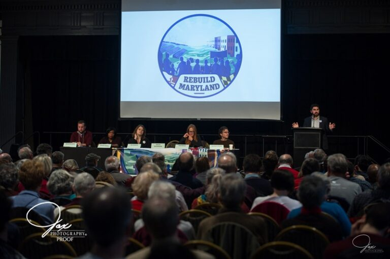 Over 400 Marylanders Gather to Combat the Climate Crisis  Rebuild Maryland: Climate Action Summit